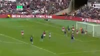 Christian Stuani scores in the match West Ham vs Middlesbrough