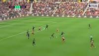Patrick van Aanholt scores in the match Sunderland vs West Brom