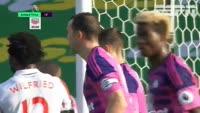 Joe Allen scores in the match Stoke City vs Sunderland