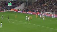 Nacer Chadli scores in the match West Brom vs Tottenham