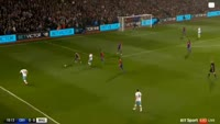 Manuel Lanzini scores in the match Crystal Palace vs West Ham