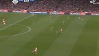 Alexis Sanchez scores in the match Arsenal vs Ludogorets