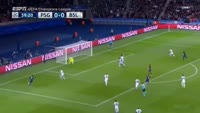 Angel Di Maria scores in the match Paris SG vs Basel