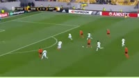 Facundo Ferreyra scores in the match Shakhtar vs Gent