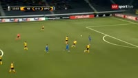 Georgios Efrem scores in the match Young Boys vs APOEL
