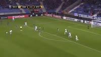Jakub Brabec scores in the match Genk vs Ath Bilbao