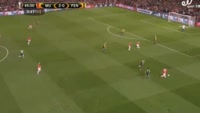 Paul Pogba scores in the match Manchester United vs Fenerbahce