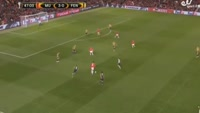 Jesse Lingard scores in the match Manchester United vs Fenerbahce