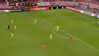 Sebastiao de Freitas Couto Junior scores in the match Olympiakos Piraeus vs FC Astana