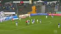 Laszlo Kleinheisler scores in the match Darmstadt vs Wolfsburg