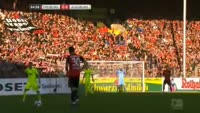 Maximilian Philipp scores in the match Freiburg vs Augsburg