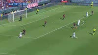 Federico Bernardeschi scores in the match Cagliari vs Fiorentina
