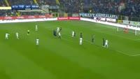 Eder Citadin Martins scores in the match Atalanta vs Inter