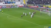 Alessandro Murgia scores in the match Torino vs Lazio