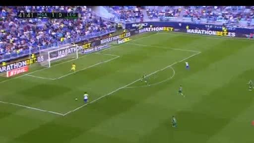 Malaga Leganes goals and highlights