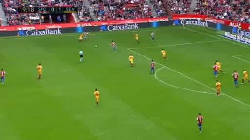 Gijon Sevilla goals and highlights