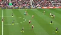 Olivier Giroud scores in the match Sunderland vs Arsenal