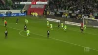 Tin Jedvaj scores in the match Wolfsburg vs Bayer Leverkusen