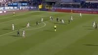 Jasmin Kurtic scores in the match Atalanta vs Genoa