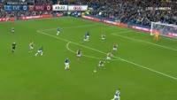 Romelu Lukaku scores in the match Everton vs West Ham