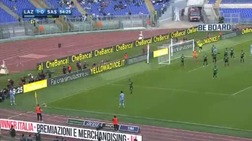 Lazio Sassuolo goals and highlights