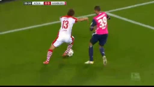 Köln Hamburger goals and highlights