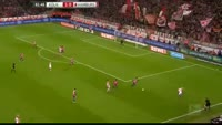 Anthony Modeste scores in the match Koln vs Hamburger