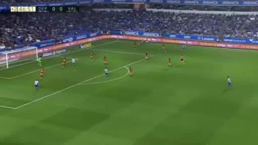Deportivo La Coruna Valencia goals and highlights