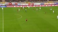Eden Hazard scores in the match Belgium vs Bosnia & Herzegovina