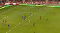 Joao Cancelo scores in the match Portugal vs Andorra
