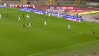 Emir Spahic scores own goal in the match Belgium vs Bosnia & Herzegovina