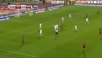 Romelu Lukaku scores in the match Belgium vs Bosnia & Herzegovina