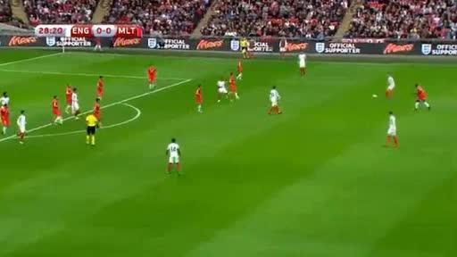 England Malta goals and highlights