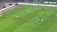 Marcel Sabitzer scores in the match Serbia vs Austria