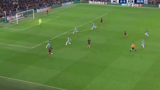 Manchester City Barcelona goals and highlights