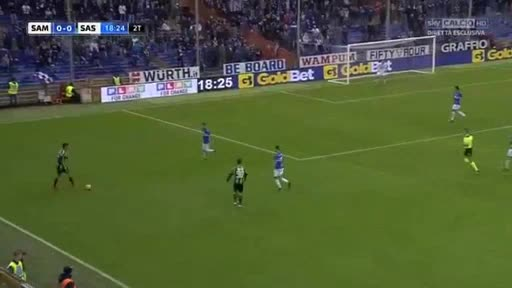 Sampdoria Sassuolo goals and highlights