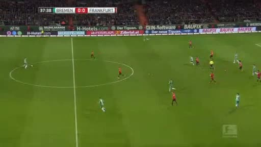Werder Bremen Eintracht  Frankfurt goals and highlights