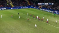 Kevin Volland scores in the match CSKA Moscow vs Bayer Leverkusen