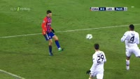 Bibras Natcho scores in the match CSKA Moscow vs Bayer Leverkusen