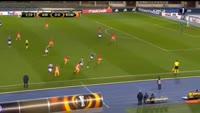 Olarenwaju Kayode scores in the match Austria Vienna vs AS Roma
