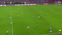Tino Susic scores in the match Ath Bilbao vs Genk