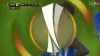 Aritz Aduriz scores in the match Ath Bilbao vs Genk