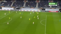 Kalifa Coulibaly scores in the match Gent vs Shakhtar