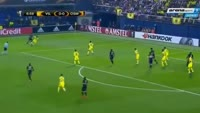 Pierre Webo scores in the match Villarreal vs Osmanlispor FK