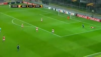 Dimitar Rangelov scores in the match Braga vs Konyaspor