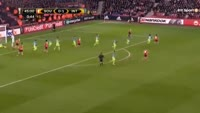 Dusan Tadic misses penalty in the match Southampton vs Inter