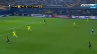 Raul Rusescu scores in the match Villarreal vs Osmanlispor FK