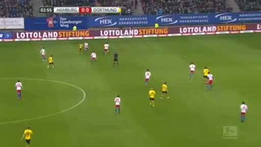 Hamburger Borussia Dortmund goals and highlights