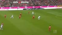 Kerem Demirbay scores in the match Bayern Munich vs Hoffenheim