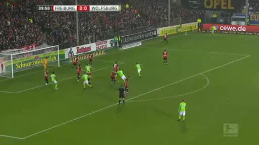 Freiburg Wolfsburg goals and highlights